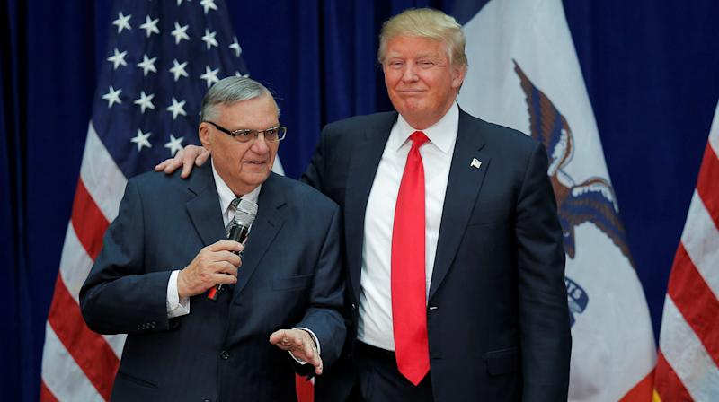 Trump Defends Pardoning Joe Arpaio During Hurricane, Saying He Did It For 'The Ratings'