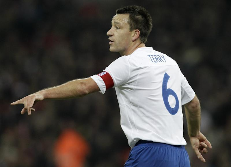 John Terry in his England days