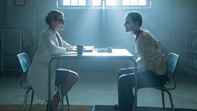 Margot Robbie and Jared Leto in <em>Suicide Squad </em>(Photo by Moviestore/REX/Shutterstock)