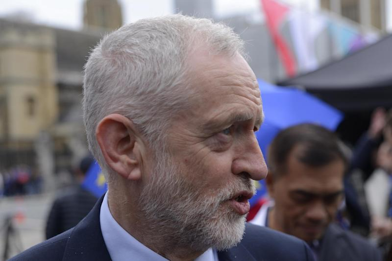 Under fire: Jeremy Corbyn (Photo by Alberto Pezzali/NurPhoto via Getty Images): NurPhoto via Getty Images