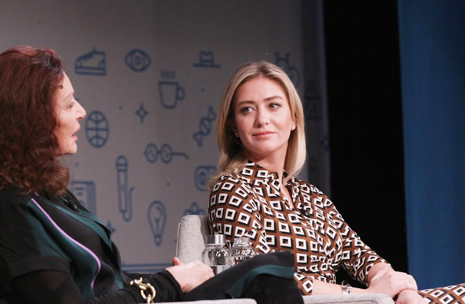 Whitney Wolfe Herd, fundadora do Bumble. (Foto: Bennett Raglin/Getty Images for Fast Company)