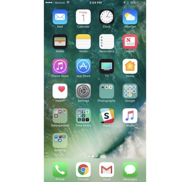 Apple's iOS operating system has won praise throughout the years for its simple, but attractive user interface.