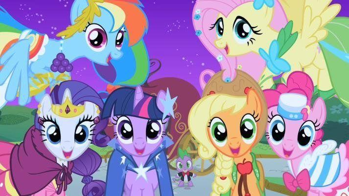 Brightly coloured, wide-eyed, cartoon ponies going by the names of Rainbow Dash, Flutter Shy, and Sweetie Belle, might not seem like an obvious choice for adult cult favourite, yet the existence of legions of loyal male fans suggests otherwise. The self-proclaimed 'Bronies' come out in force at fan-conventions, and have taken the internet by storm producing remixed versions of the show's theme- tune and art.