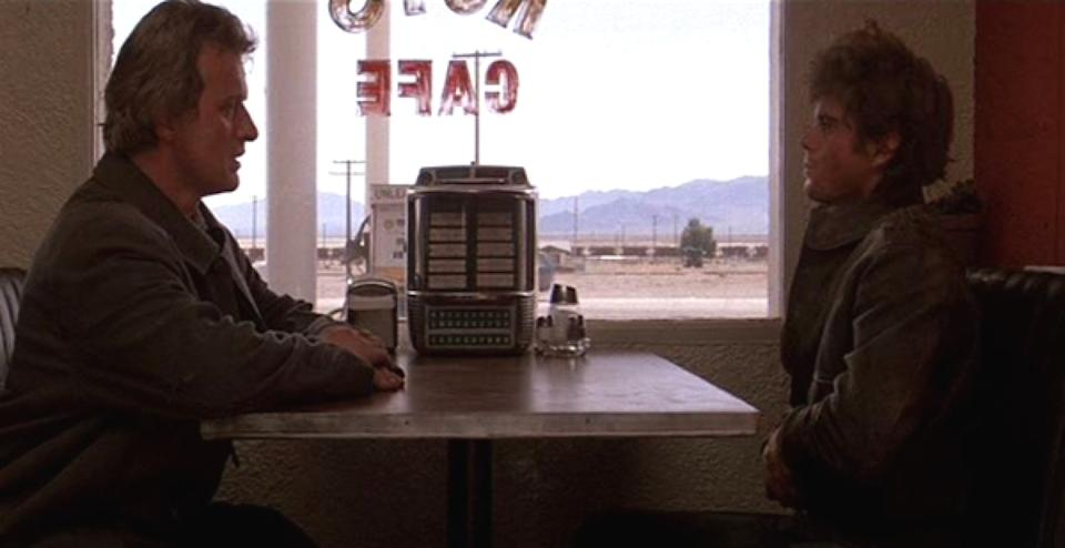 still from the 1986 the hitcher
