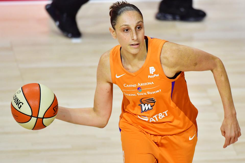 Diana Taurasi of the Phoenix Mercury