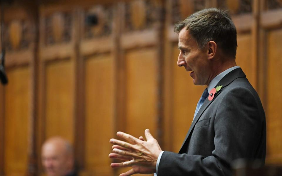 Jeremy Hunt: Christmas decision should be delayed - PA