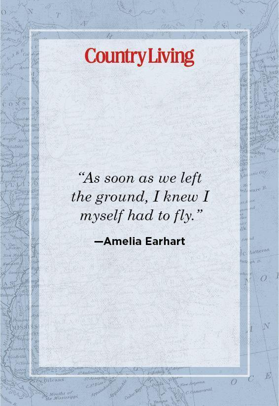 """<p>""""As soon as we left the ground, I knew I myself had to fly.""""</p>"""