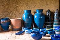 """<p>Vintage kitchenware like Pyrex can go for thousands, but if you happen across antique-looking pottery you also might want to snap it up. In 2013, a 1,000-year old Chinese bowl bought for <a href=""""https://edition.cnn.com/2013/03/20/business/sothebys-china-bowl/index.html"""" rel=""""nofollow noopener"""" target=""""_blank"""" data-ylk=""""slk:$3 at a yard sale"""" class=""""link rapid-noclick-resp"""">$3 at a yard sale</a> was auctioned off for more than $2 million.</p>"""