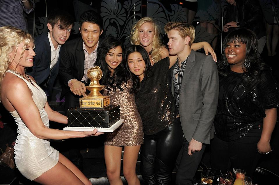 """<p>""""Happy birthday, 🐝. No one else could get us to be this messy in public,"""" Kevin captioned a picture from Naya's 2011 birthday celebration.</p>"""