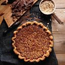 """Think of this like a giant version your favorite chocolatey granola bar (in a pie crust). <a href=""""https://www.epicurious.com/recipes/food/views/black-bottom-oatmeal-pie-51257320?mbid=synd_yahoo_rss"""" rel=""""nofollow noopener"""" target=""""_blank"""" data-ylk=""""slk:See recipe."""" class=""""link rapid-noclick-resp"""">See recipe.</a>"""