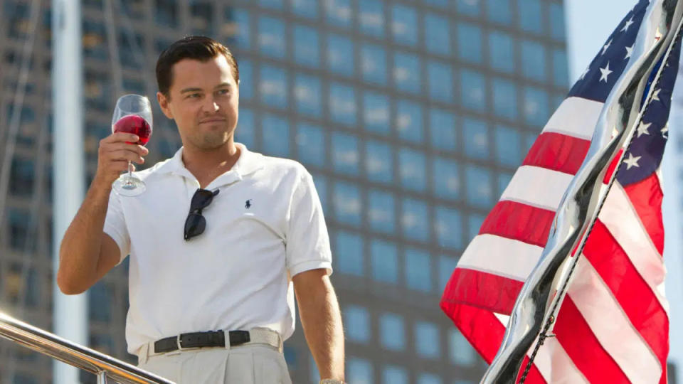 'The Wolf of Wall Street'. (Credit: Paramount)