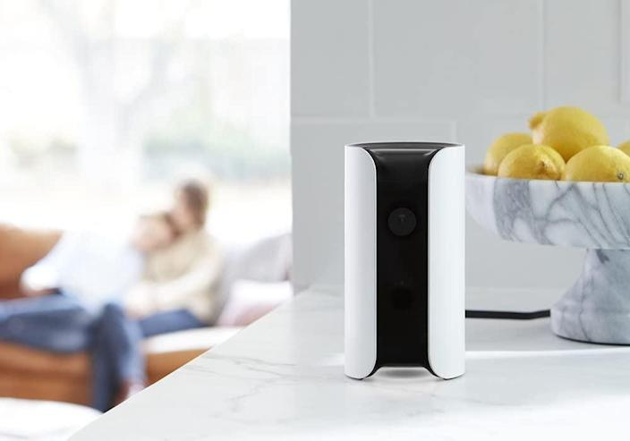 <p>The <span>Canary Home Security Device</span> ($129) ensures that your home is always safe, no matter where you are. View your home at any time through the live stream, set and disarm your alarms, and get alerts for unexpected movement directly on your phone.</p>
