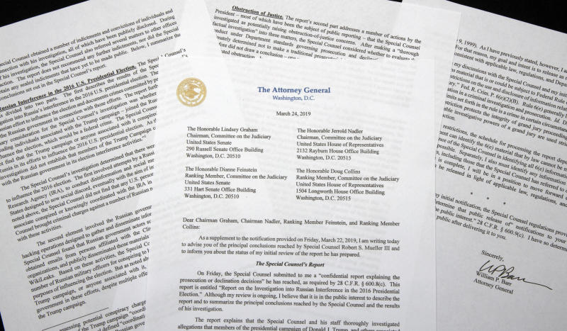 Read the Letter: Mueller Complains Barr Caused 'Public Confusion'