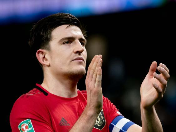 Harry Maguire was one of the driving forces behind the PlayersTogether charitable fund (Getty)