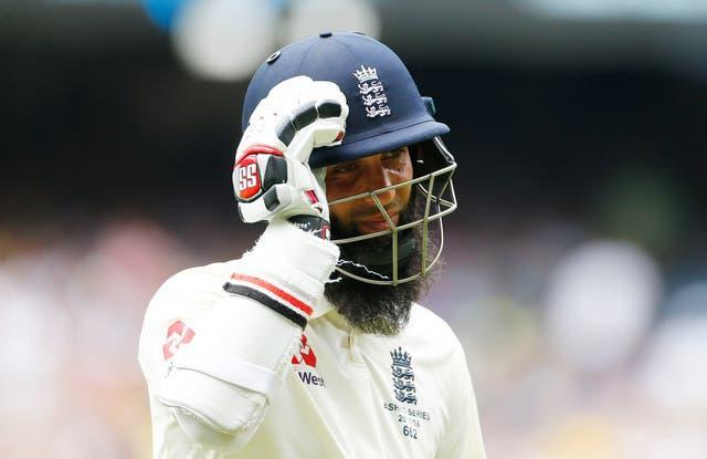 Late fireworks from Moeen Ali could not deny India