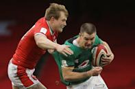 Ireland fly-half Johnny Sexton (right) in Six Nations action against Wales