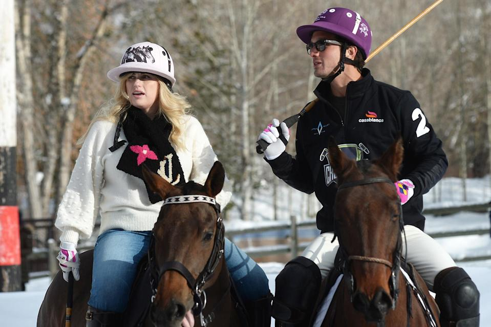 <p>Rebel Wilson and her boyfriend Jacob Busch had some fun during a polo match in Aspen, Colorado.</p>
