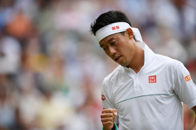 Nishikori's U.S. Open hopes fade with second COVID-19 positive