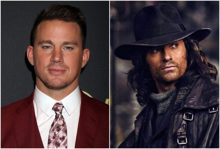 Is Channing Tatum set to fill Hugh Jackman's boots as the new Van Helsing? (Credit: WENN, Universal)