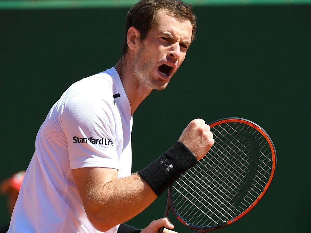 Andy Murray won on his return to competitive tennis: Getty
