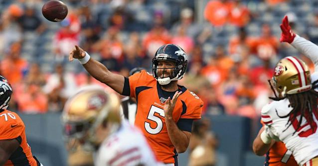 Broncos see halftime lead over 49ers evaporate into a 24-15 defeat