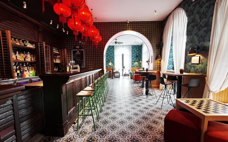 Rome's first 'poshtel', Generator, is a chic, boutique accommodation with a youthful vibe and a contemporary-meets-retro décor