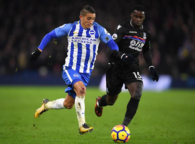 Brighton and Crystal Palace drew 0-0 in the Premier League in November