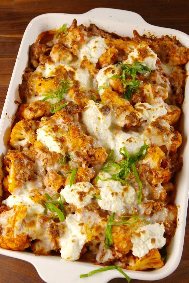 "<p>Cauliflower makes the best stand in for practically EVERY pasta.</p><p>Get the recipe from <a href=""https://www.delish.com/cooking/recipe-ideas/a57630/cauliflower-baked-ziti-recipe/"" rel=""nofollow noopener"" target=""_blank"" data-ylk=""slk:Delish"" class=""link rapid-noclick-resp"">Delish</a>.<br></p>"