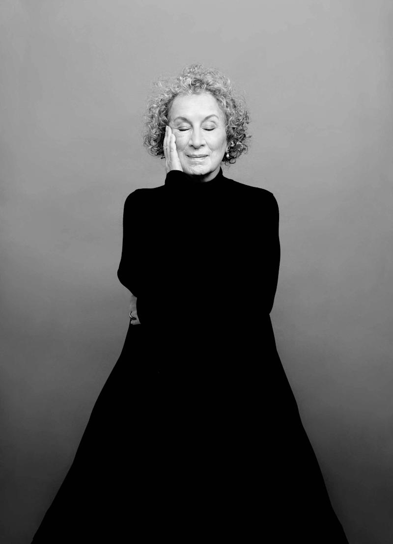 Portrait of Margaret Atwood shot at the Time Inc. Photo Studios in New York, March 18 2017.