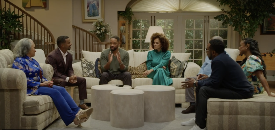 The Fresh Prince of Bel-Air Reunion streams Nov. 19 on HBO Max. (Image: HBO Max)