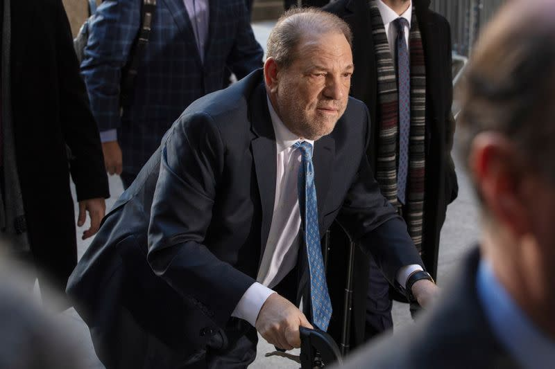 Weinstein stir crazy at New York hospital days after sex crimes conviction, spokesman says