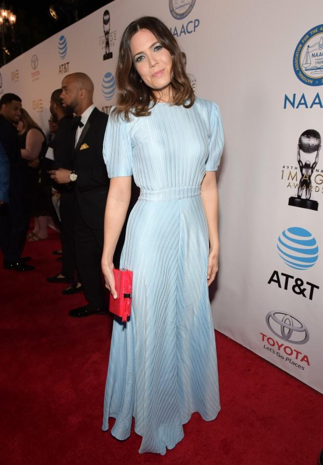 Stars wowed as they stepped out for the 49th annual awards show in Pasadena, California, on Monday.
