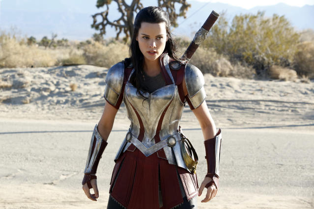 Alexander has played Lady Sif on two of the <em>Thor</em> movies as well as on TV's <em> Agents of S.H.I.E.L.D</em>.  (Photo: Kelsey McNeal/ABC via Getty Images)