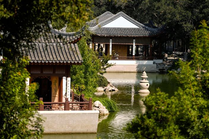 The Chinese Garden at The Huntington Library, Art Museum, and Botanical Gardens.