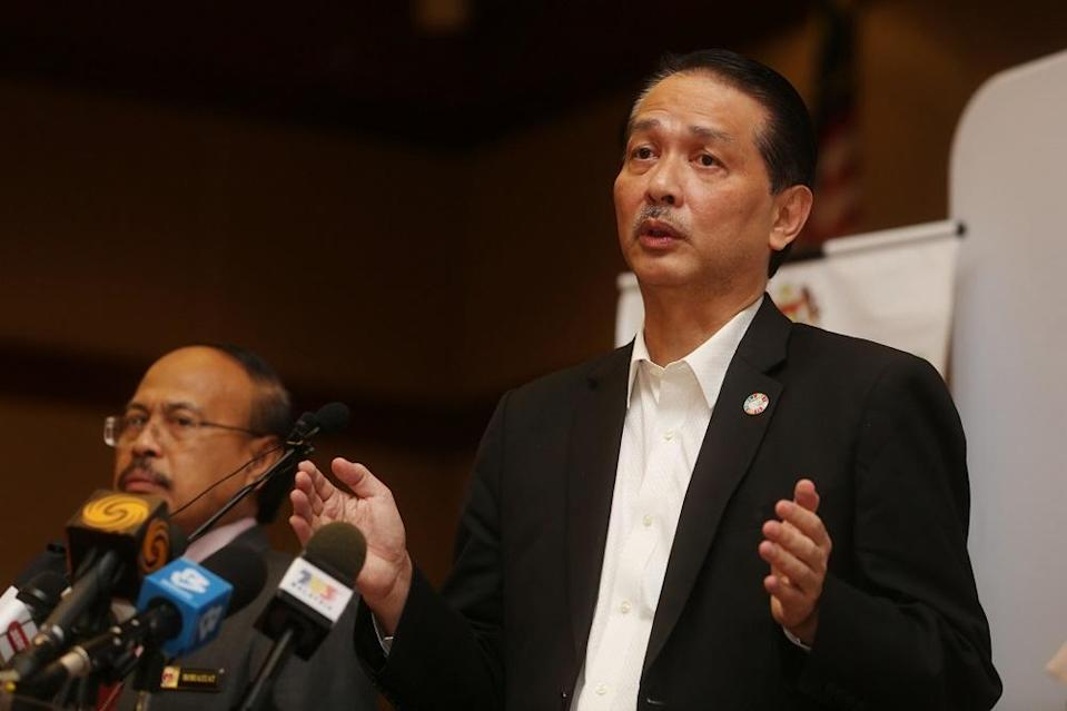 Health director-general Datuk Dr Noor Hisham Abdullah said Malaysia has 15 new Covid-19 infection cases and one new death. — Picture by Choo Choy May