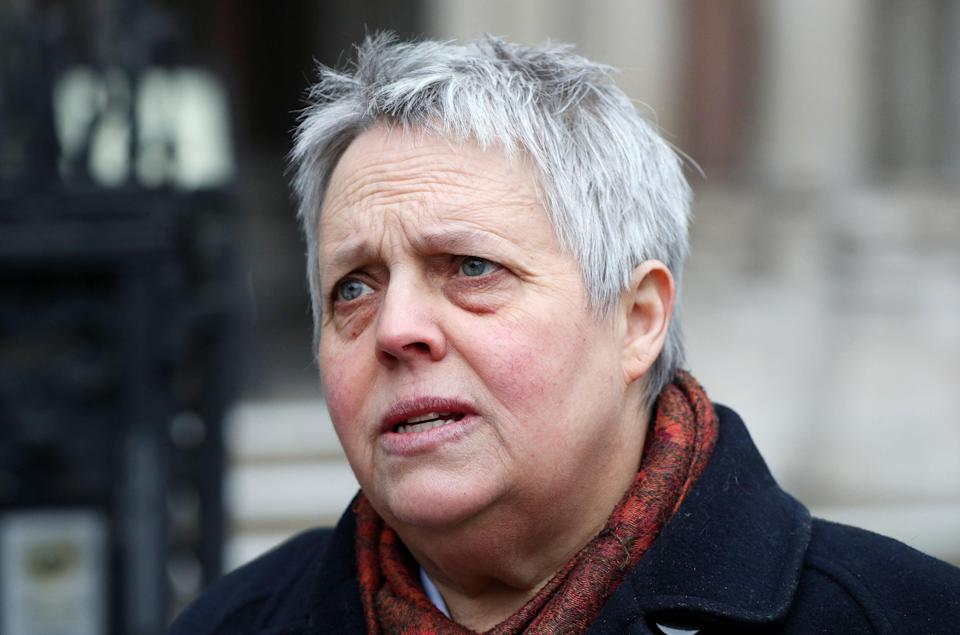 Harriet Wistrich, founder and director of the Centre for Women's Justice (PA)