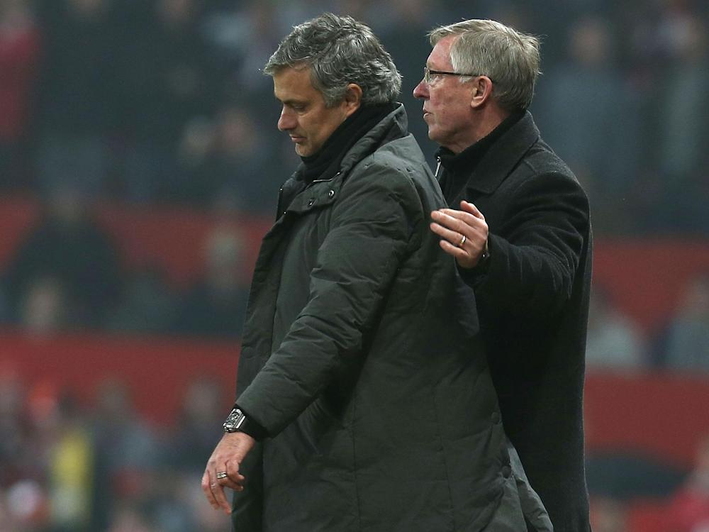 Jose Mourinho has been advised by Sir Alex Ferguson to target the Champions League through the Europa League: Getty