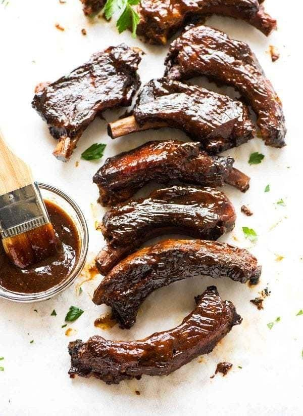 """<p>Sure, ribs are best cooked on a hot grill, but if you're looking to avoid hot cooking altogether, these <a href=""""https://www.wellplated.com/crockpot-ribs/"""" target=""""_blank"""" class=""""ga-track"""" data-ga-category=""""Related"""" data-ga-label=""""https://www.wellplated.com/crockpot-ribs/"""" data-ga-action=""""In-Line Links"""">Crock-Pot ribs</a> mean you can have your Summer rib dinners without all the fuss.</p>"""