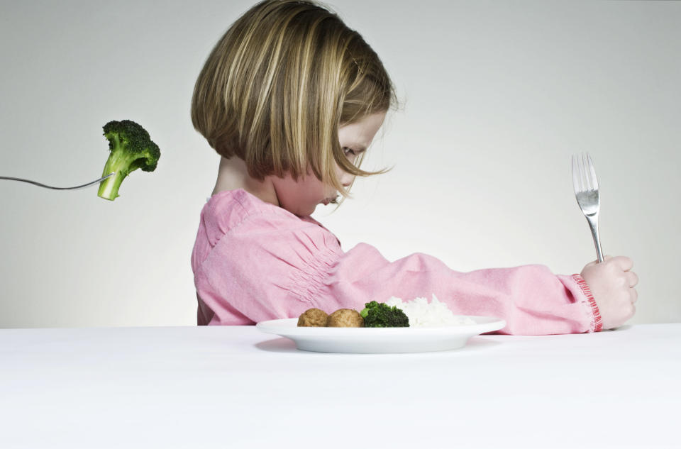 There's nothing like fussy eating to ruin dinner time Photo: Getty Images