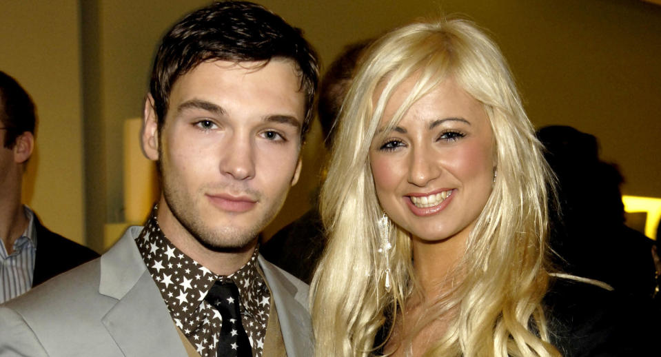 Preston and Chantelle Houghton during Prada and GQ Style Host Spring/Summer Preview Party - March 30, 2006 at Prada Store in London, Great Britain. (Photo by Nick Harvey/WireImage)