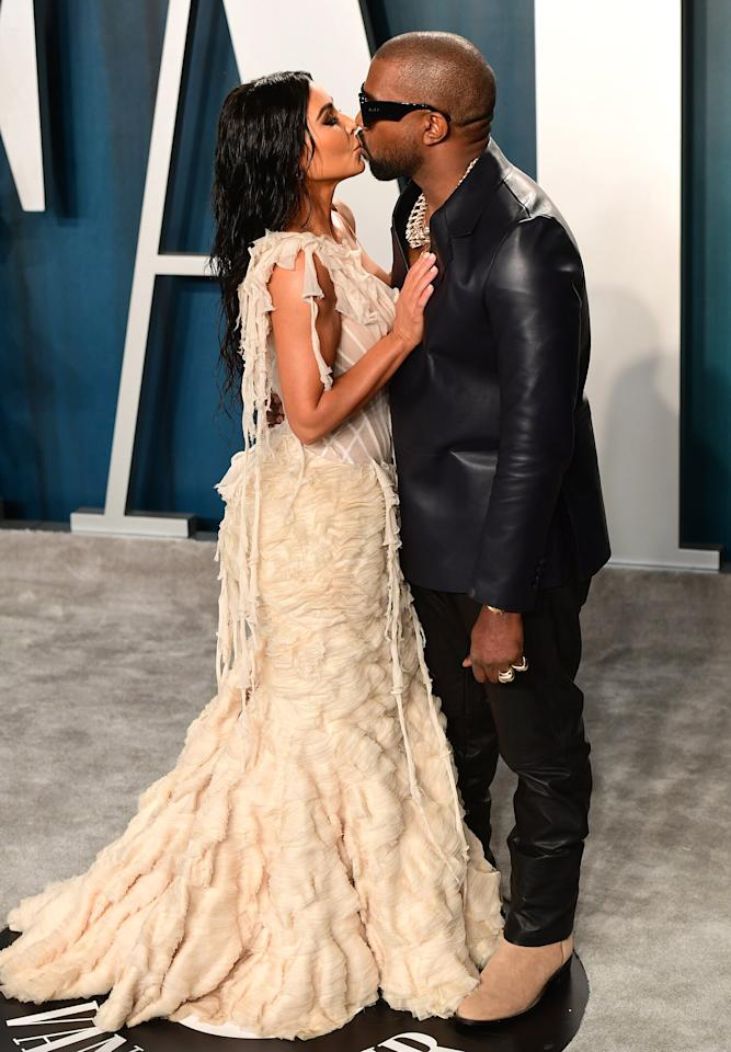 """According to LILY et Cie, the Beverly Hills fashion archive where Kanye purchased the gown for Kim, Andrew Bolton, <a href=""""https://www.metmuseum.org/art/collection/search/88645"""">curator at the MET</a>, once said that the Oyster gown is """"arguably considered the most important dress of the 21st century."""""""