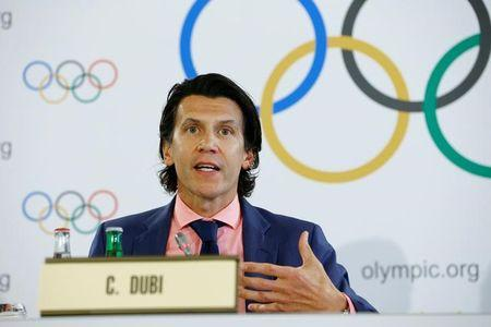 International Olympic Committee news conference in Lausanne