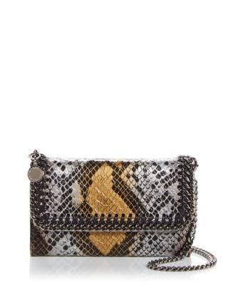 <p>The <span>Stella McCartney Snake Embossed Crossbody Phone Case & Wallet</span> ($458) is so cute and perfect for when we can go out again! </p>