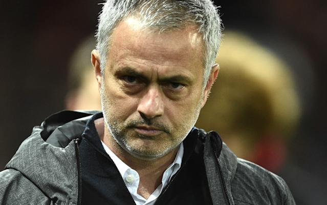 <span>Jose Mourinho, the Manchester United manager, is not happy with the Premier League </span> <span>Credit: GETTY IMAGES </span>