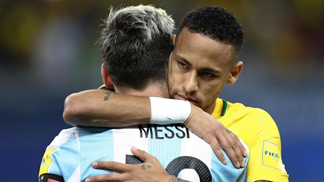 Cristiano Ronaldo and Lionel Messi are on another level, but Brazil star Neymar believes he is the best of the rest.