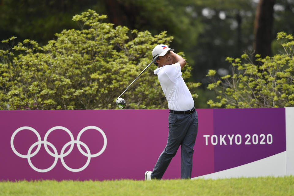 Juvic Pagunsan struggles in 2nd round of golf tournament at Tokyo Olympics