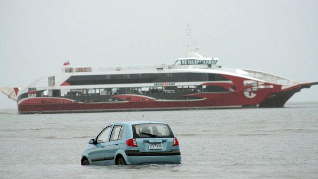 GPS Tracking Disaster: Japanese Tourists Drive Straight into the Pacific