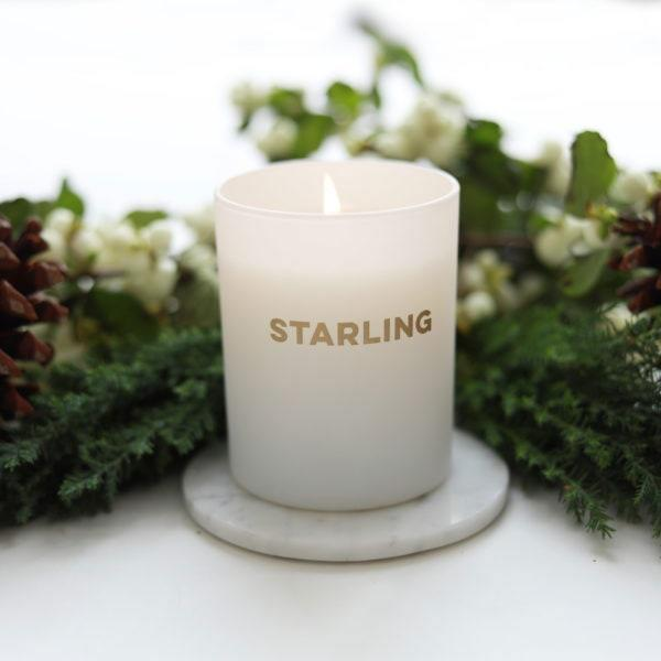 """$55, Starling Project. <a href=""""https://starlingproject.org/product/holiday-candle/"""" rel=""""nofollow noopener"""" target=""""_blank"""" data-ylk=""""slk:Get it now!"""" class=""""link rapid-noclick-resp"""">Get it now!</a>"""