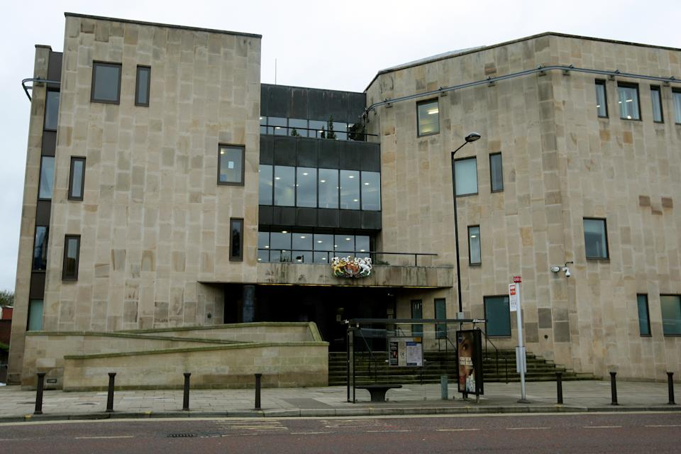 General view of Bolton Crown Court, Bolton.