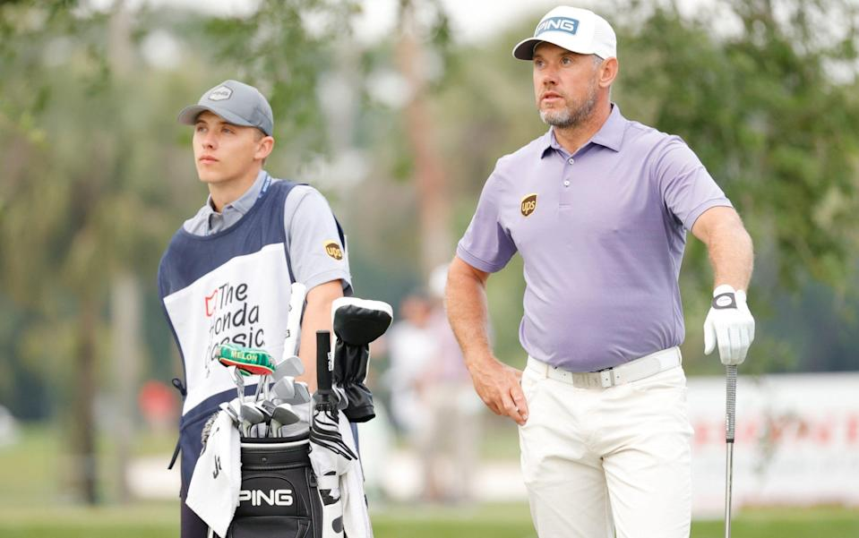 It will, however, be a father-son combination for the Masters - GETTY IMAGES